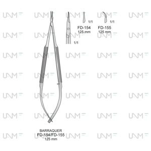 BARRAQUER Micro Needle Holders
