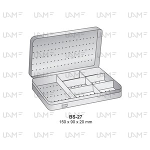 Stainless Steel Sterilization Containers