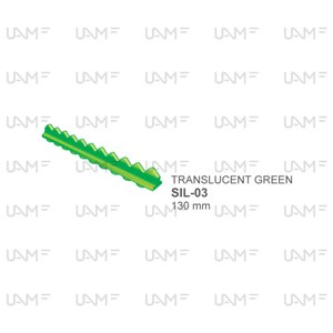 TRANSLUCENT GREEN Stainless Steel Sterilization Containers